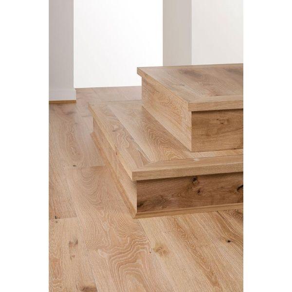 White Smoked Oak Timber Flooring