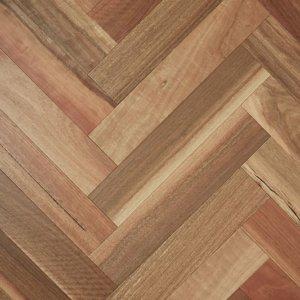 Spotted Gum Herringbone Timber Flooring