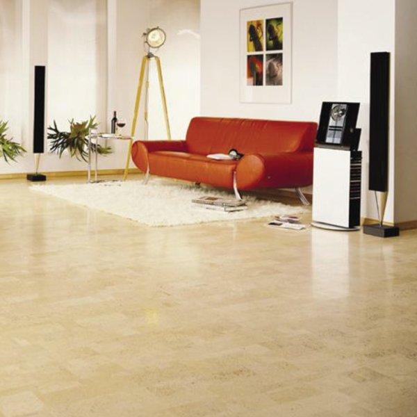 Ambient Harmony Ivory Cork Flooring