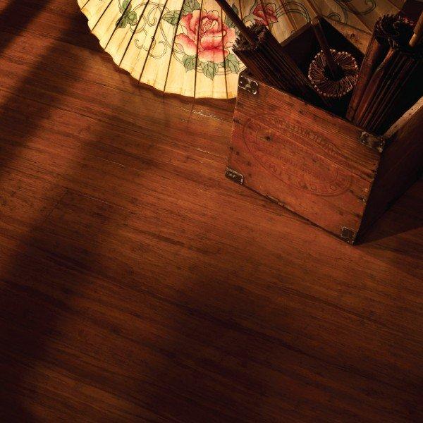 Brushed Antique Bamboo Flooring