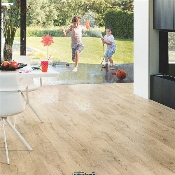 Classic Oak Beige Timber Look Flooring