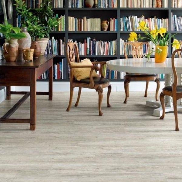 Cracked White Oak Timber Look Flooring