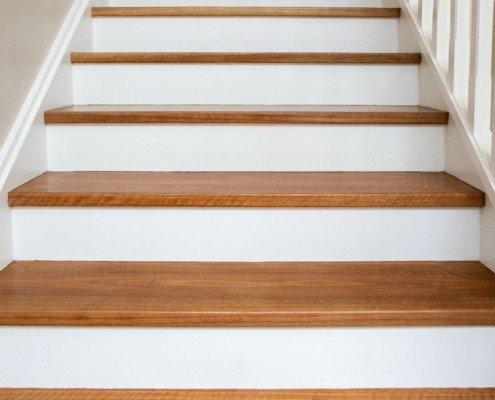 Timber steps
