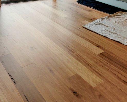 Blackbutt timber floor