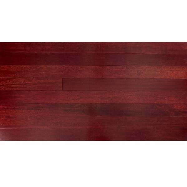 Pre-Finished Kempas Red Stain Timber Flooring