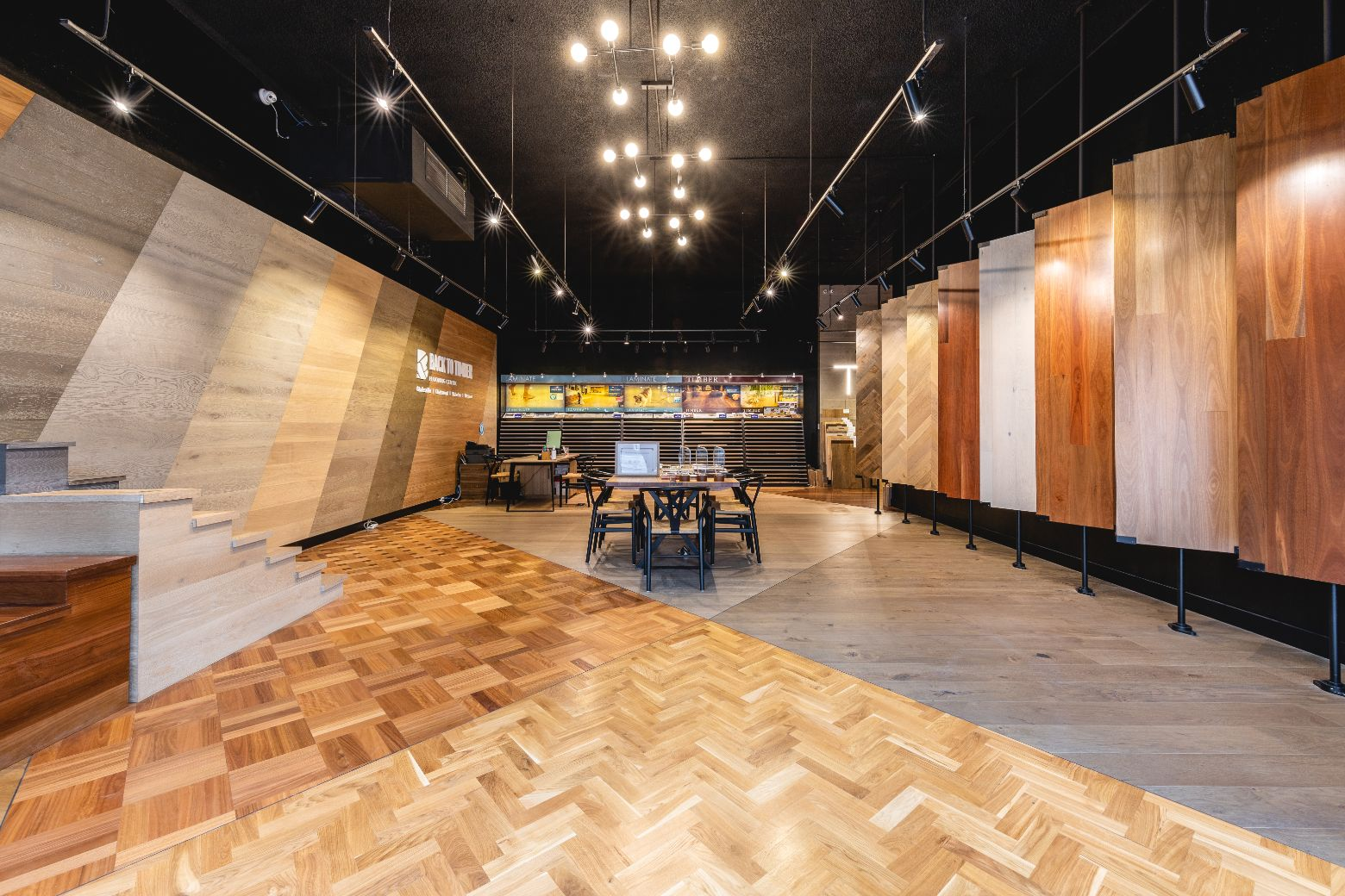 Back to Timber showroom