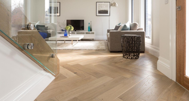 Herringbone Timber Floor