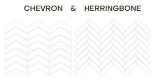 Chevron and Herringbone