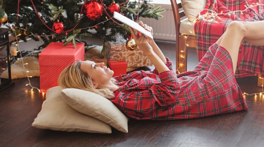 Christmas wooden flooring